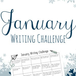 january writing challenge, january writing, writing challenge