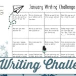 January Writing Challenge