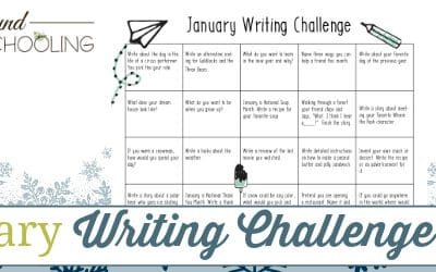 January Writing Challenge