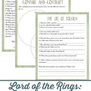 fellowship of the ring book study, fellowship of the ring book, fellowship of the ring, Lord of the Rings book study, Lord of the Rings book,