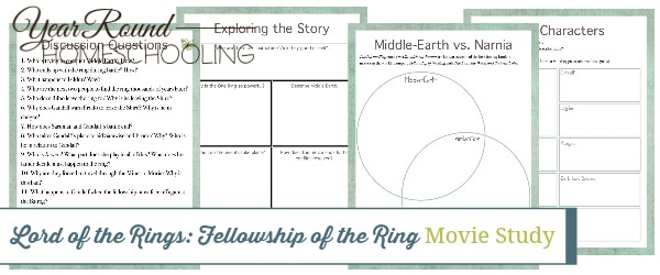 fellowship of the ring movie study, fellowship of the ring movie, fellowship of the ring, Lord of the Rings movie study, Lord of the Rings movie