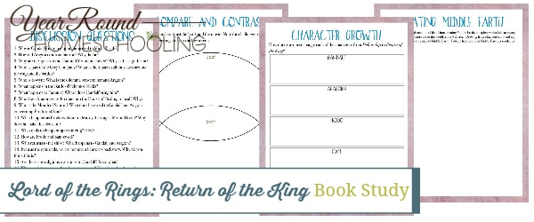 return of the king book study, return of the king book, Lord of the Rings book study, Lord of the Rings book