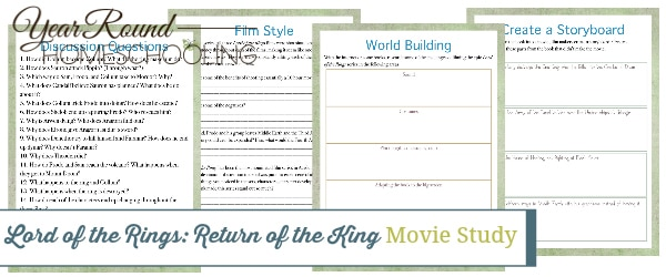 return of the king movie study, return of the king movie, return of the king, Lord of the Rings movie study, Lord of the Rings movie