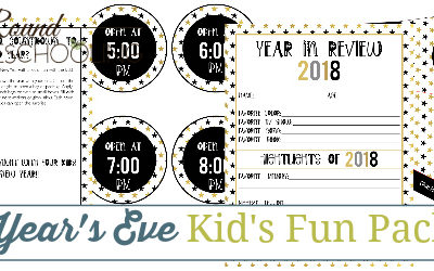 New Year's Eve Kids Fun Pack