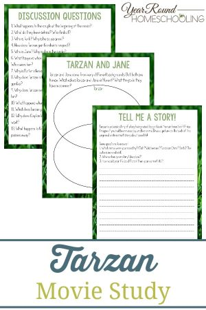 Tarzan Movie Study