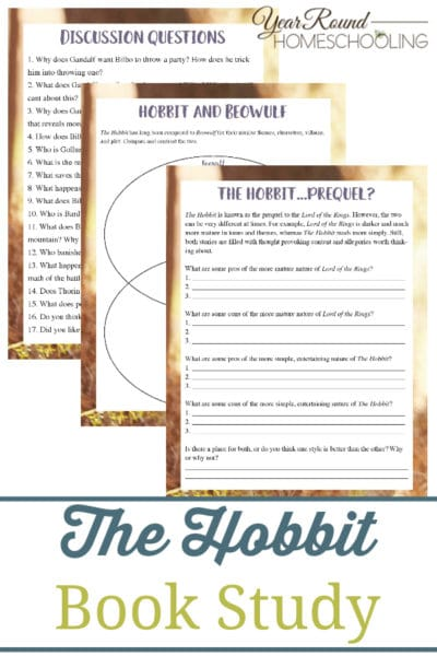 The Hobbit Book Study