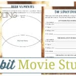 *Limited Time Freebie* The Hobbit Movie Study