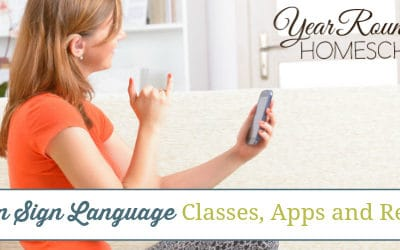American Sign Language Classes, Apps and Resources