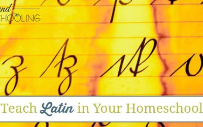 teach latin in your homeschool, teach latin homeschool, homeschool latin, latin homeschool, getting started with latin