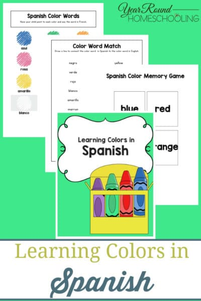 Learning Colors in Spanish