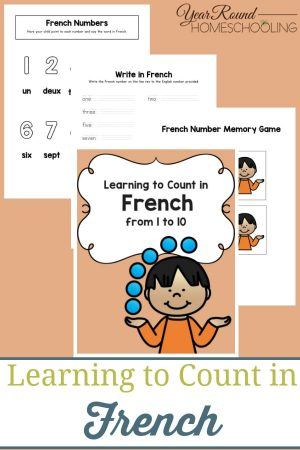 Learning to Count in French