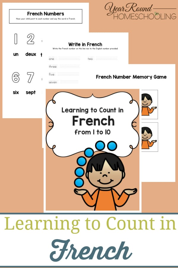 learning to count in french, learning count french, french count, count french