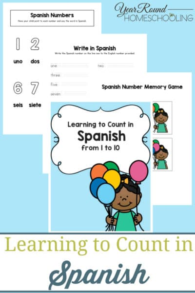 Learning to Count in Spanish
