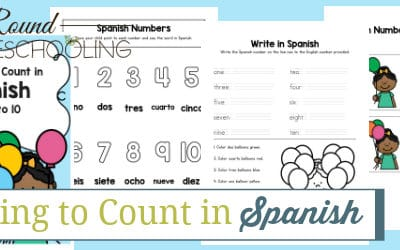 Learn to Count in Spanish Numbers 1-10