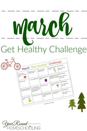 March Get Healthy Challenge