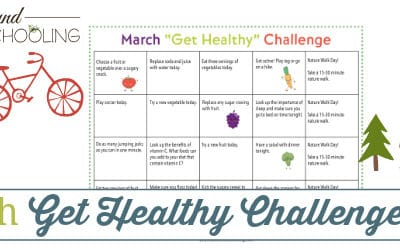 march get healthy challenge, get healthy challenge, get healthy challenge printable, March get healthy challenge printable