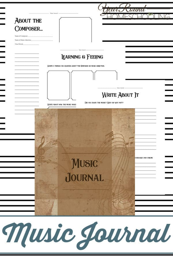 music journal, charlotte mason music journal, music journal charlotte mason