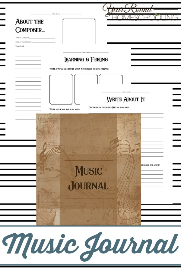music journal, charlotte mason music journal, music journal charlotte mason