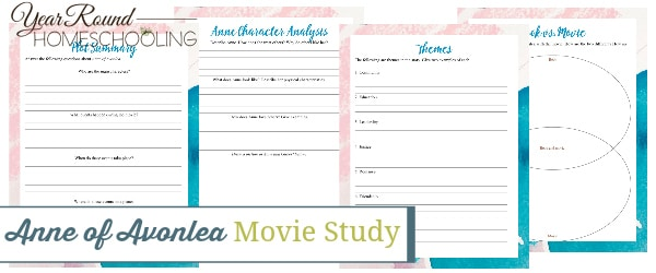 anne of avonlea movie study, anne of avonlea movie, anne of avonlea study, anne of avonlea literature, anne of avonlea