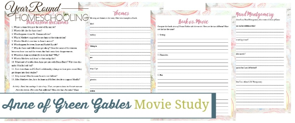 anne of green gables movie study, anne of green gables movie, anne of green gables study, anne of green gables literature, anne of green gables