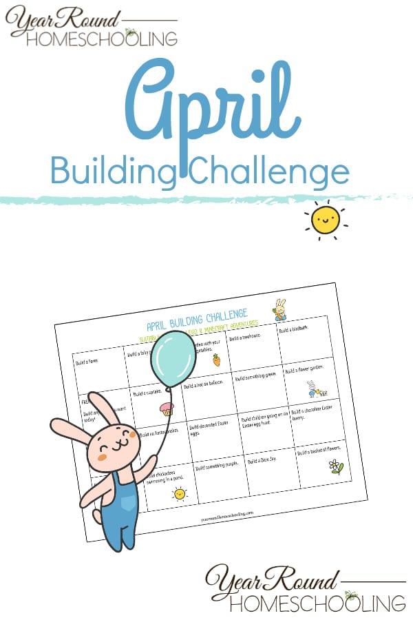 april building challenge, building challenge, lego building challenge, minecraft building challenge, lego building adventure, minecraft building adventure
