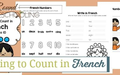 Learn to Count in French Numbers 1-10
