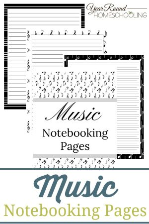 Music Notebooking Pages Pack