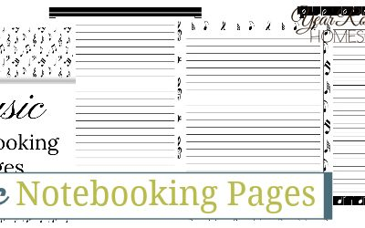 Music Notebooking Pages