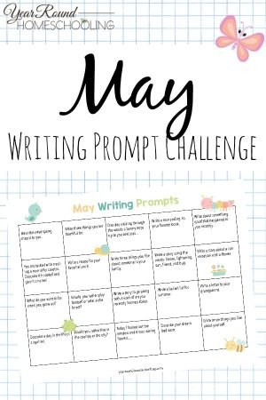 May Writing Prompt Challenge