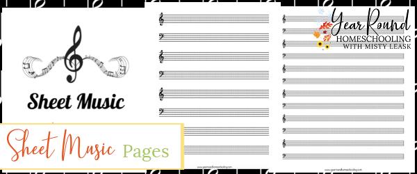sheet music pages, blank sheet music, sheet music