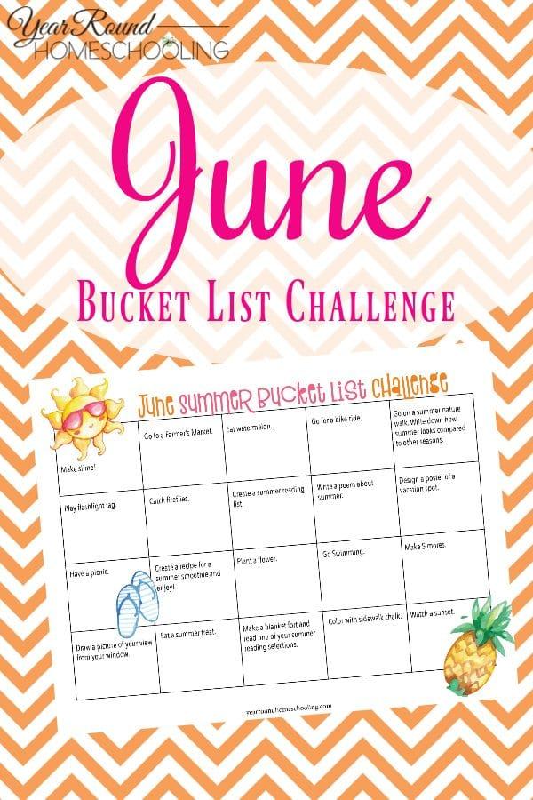 summer bucket list, summer bucket list challenge, june challenge, summer challenge