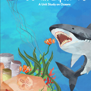 ocean unit study, oceans unit study, unit study ocean, ocean lesson, lessons on the ocean