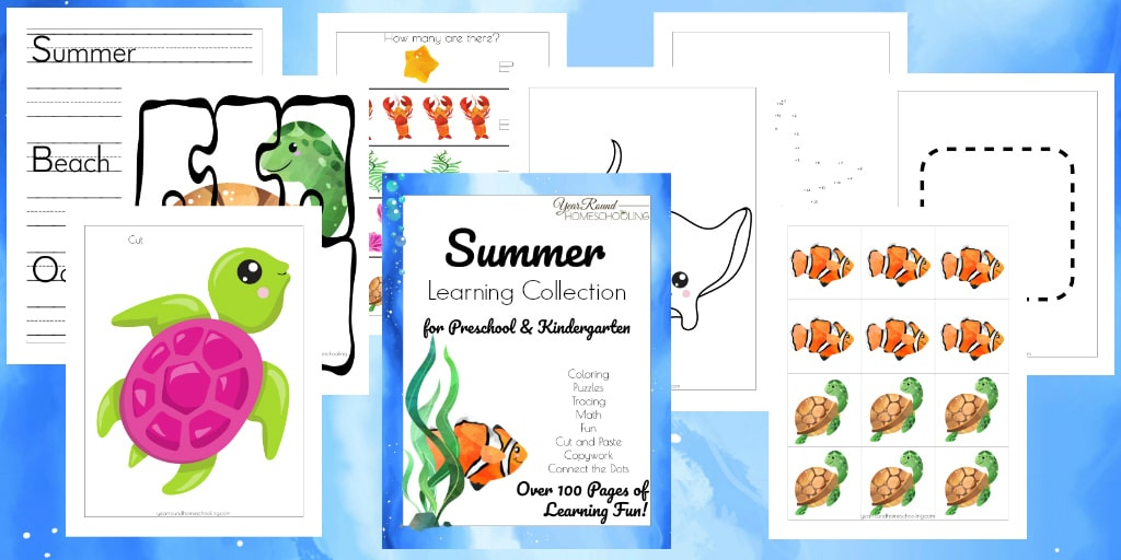 Summer Learning Collections - Year Round Homeschooling