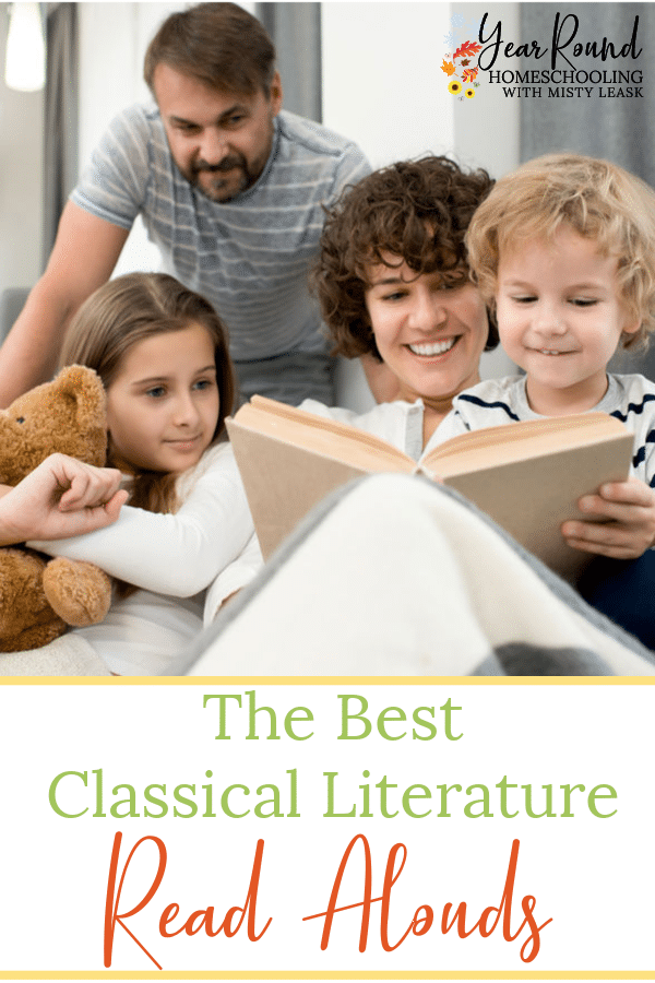 best classical literature read alouds, read alouds classical literature, read aloud classical literature, classical literature read aloud