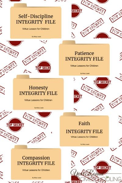 Integrity Files: Virtue Lessons for Kids Set