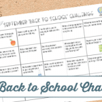 *Limited Time Freebie* September Back to School Challenge