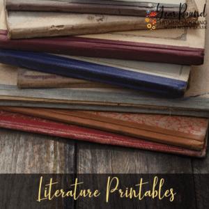 Literature Printables