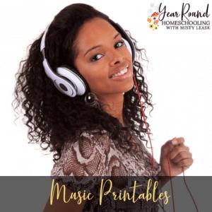Music Printables