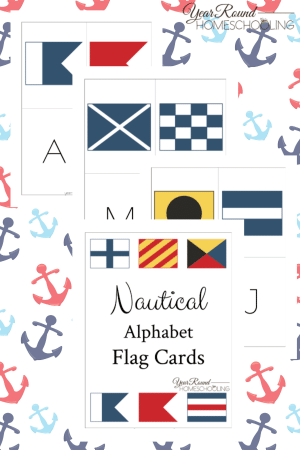 Nautical Alphabet Flag Pack