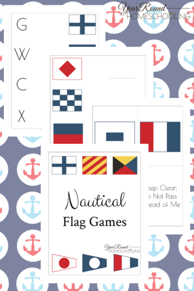 Nautical Flag Game Pack