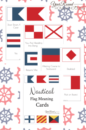 Nautical Flag Meaning Pack