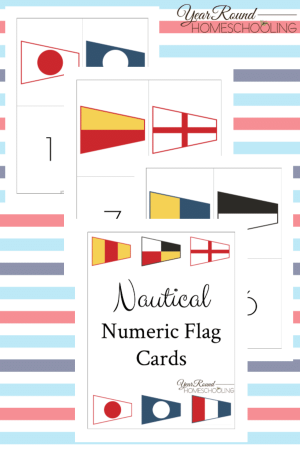 Nautical Numeric Flag Pack