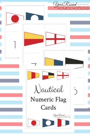 Nautical Numeric Flag Pack