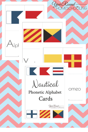 Nautical Phonetic Alphabet Pack
