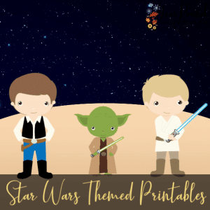 Star Wars Themed Printables