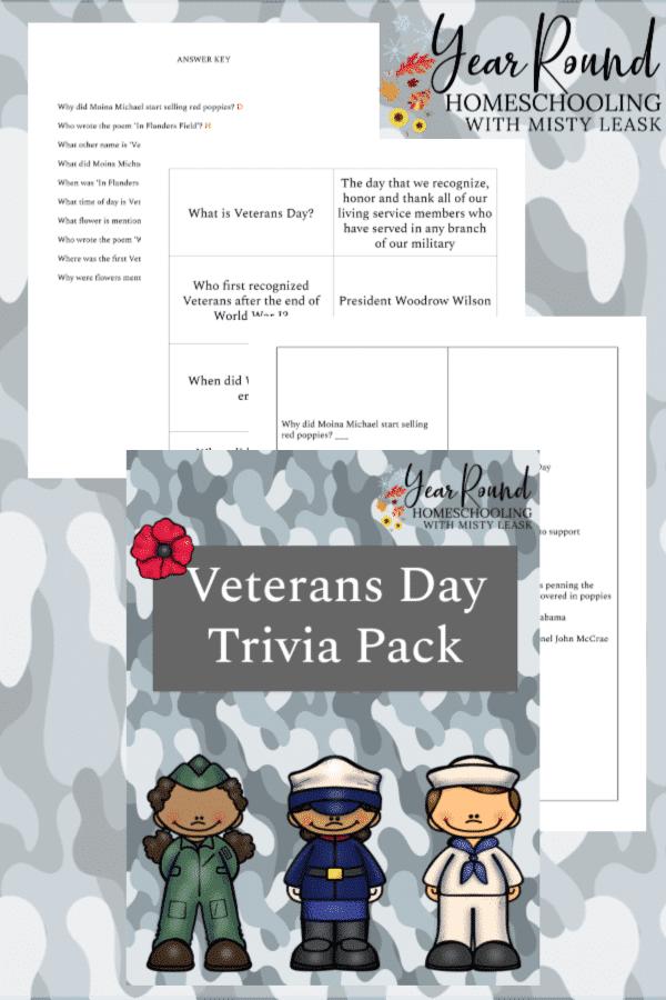 veterans day trivia, trivia veterans day
