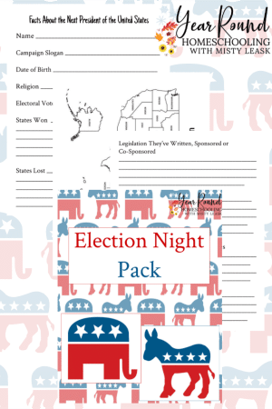 Election Night Learning Pack