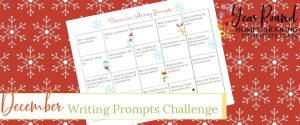 december challenge, december calendar, december writing prompts challenge, december writing challenge, december writing calendar