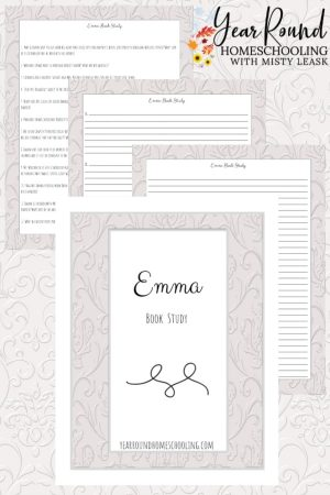 Emma Book Study Pack
