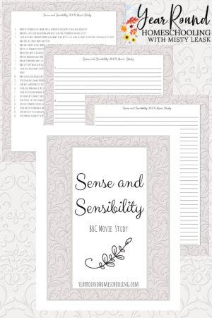 Sense and Sensibility BBC Movie Study Pack